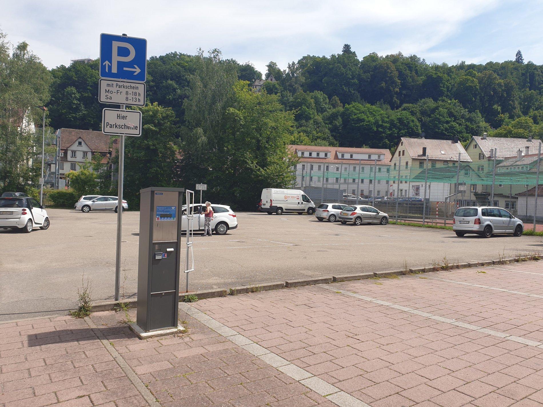 Parkplatz Badstraße