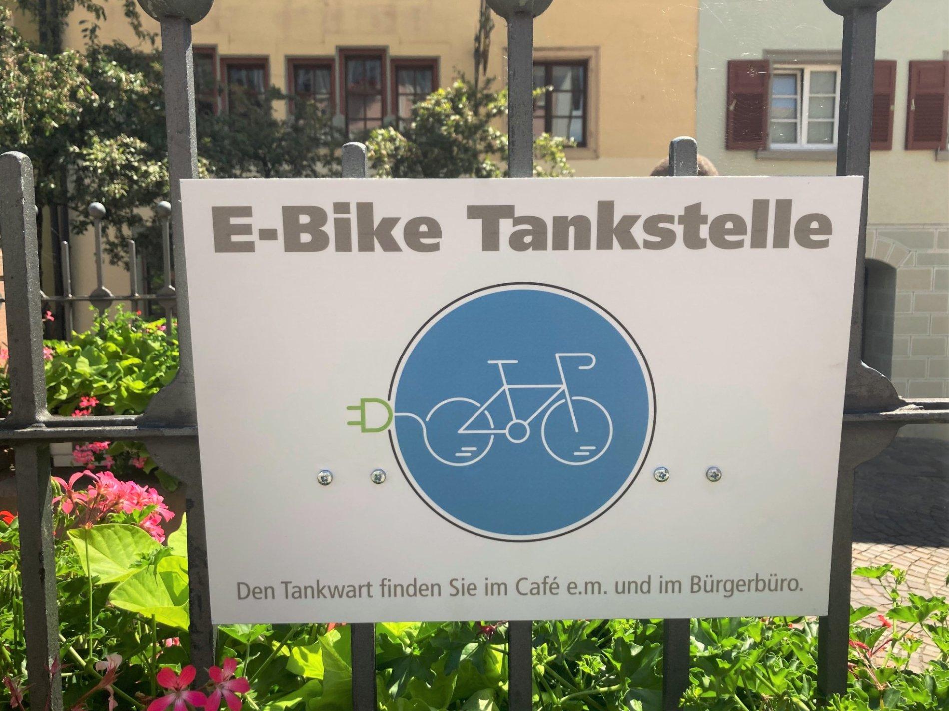E-Bike-Tankstelle