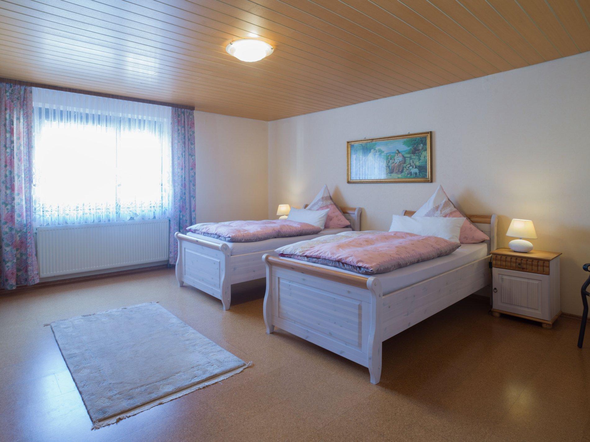 Schlafzimmer Gästehaus Schneider