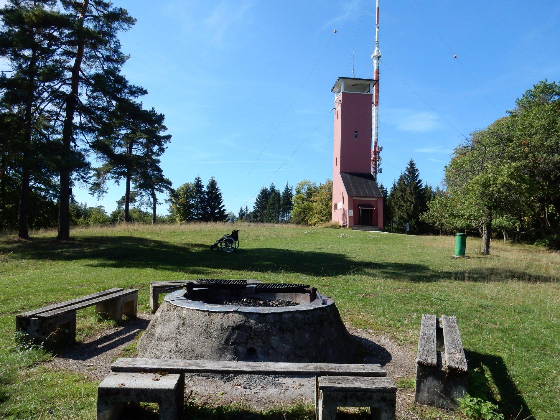 Grillplatz am Nägelehaus auf dem Raichberg in Albstadt-Onstmettingen
