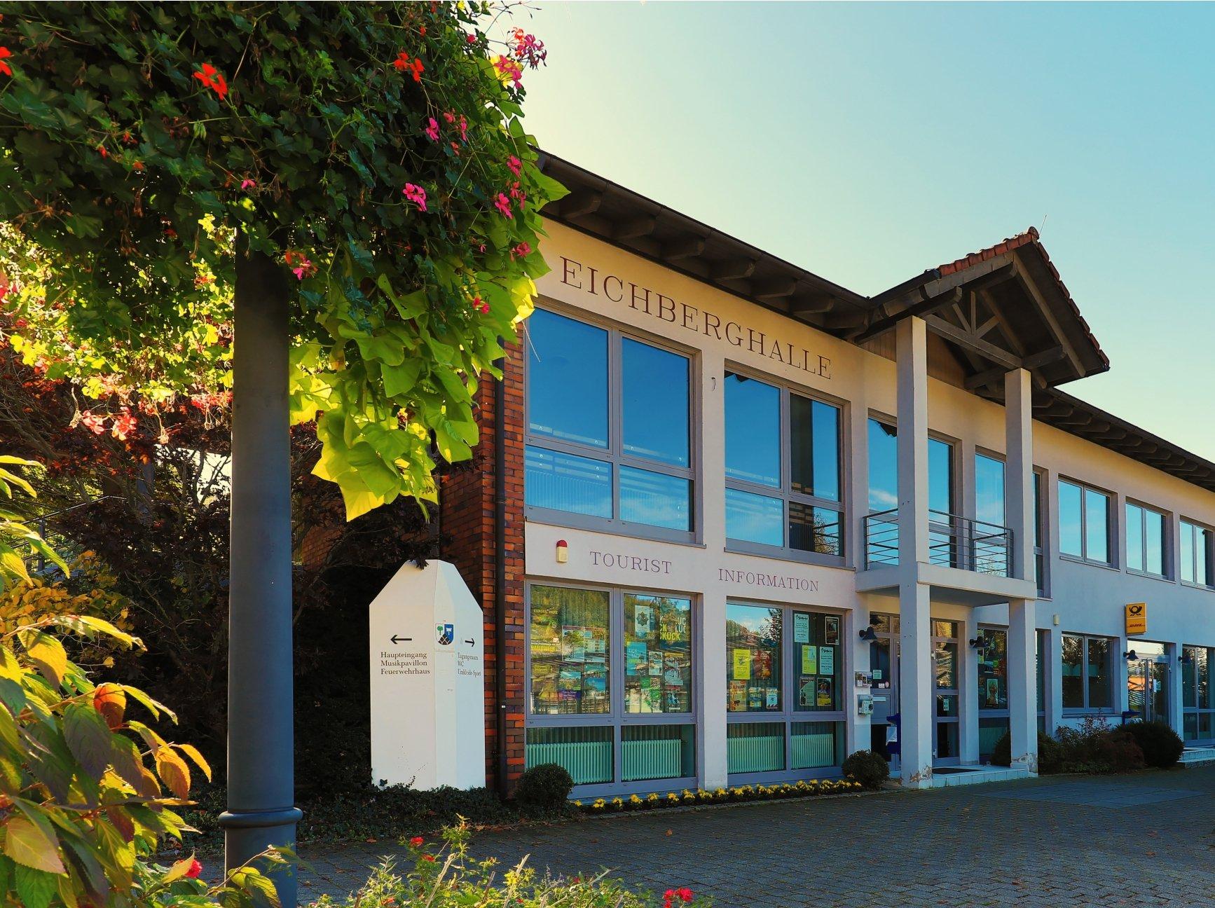 Tourist-Information Glottertal in der Eichberghalle EG