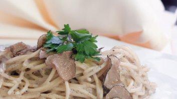 Spaghetti mit Trüffel