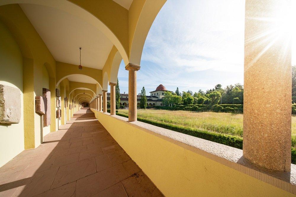 Historisches Gebäude auf dem Hauptfriedhof