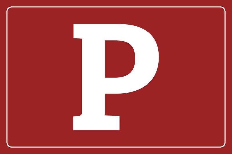 Parkplatz Piktogramm