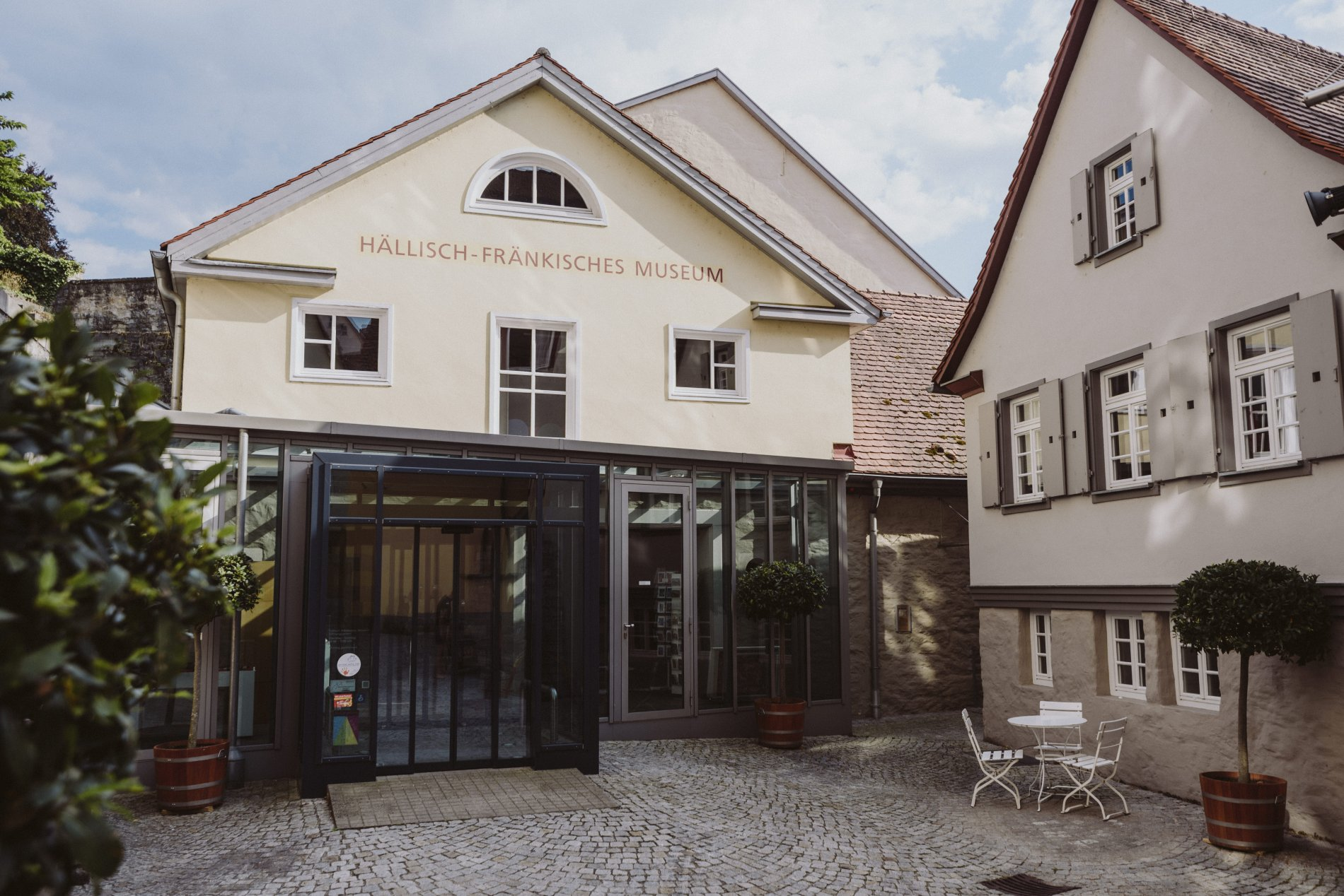 Eingangsbereich in das Hällisch-Fränkische Museum