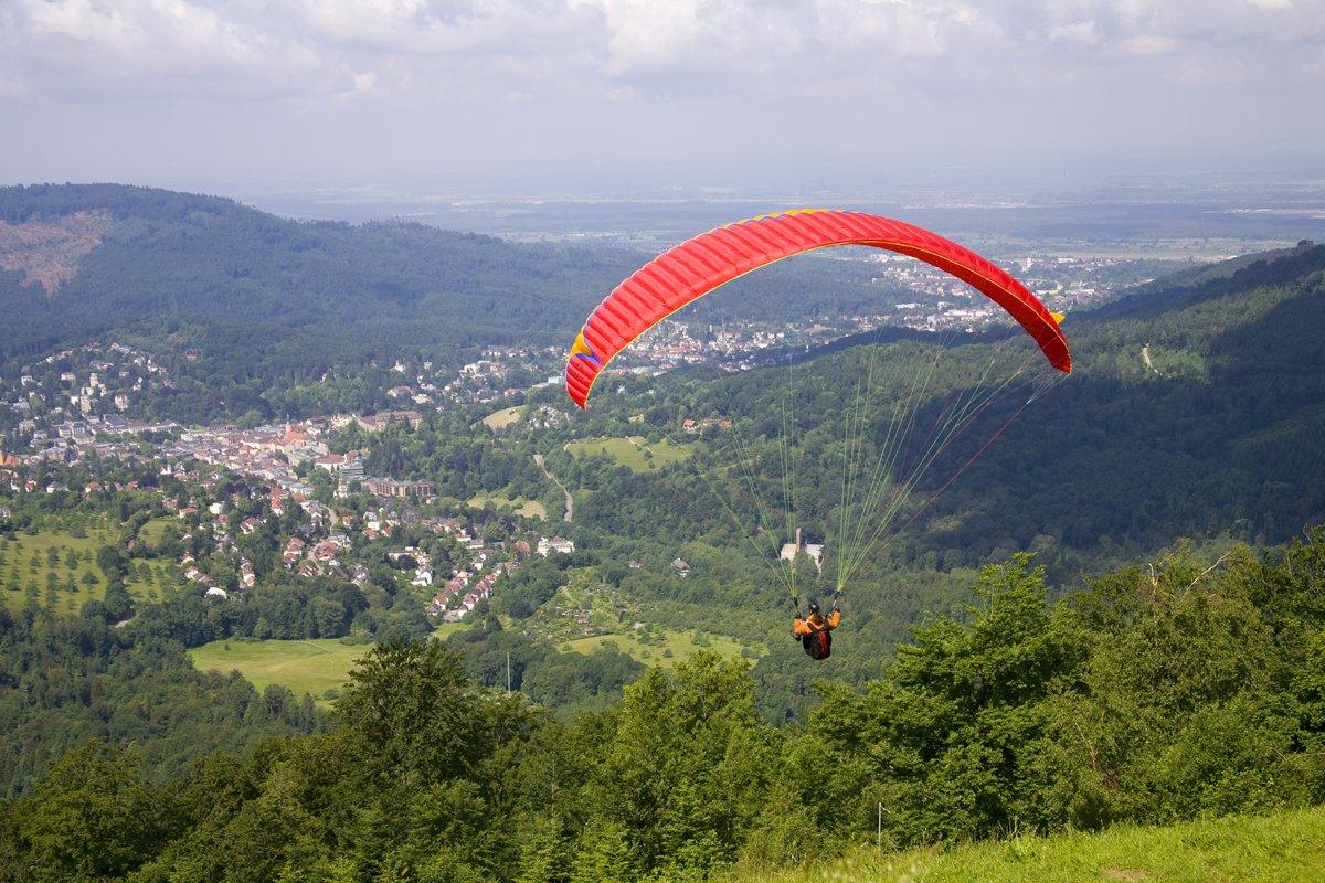 Gleitschirmfliegen Baden-Baden