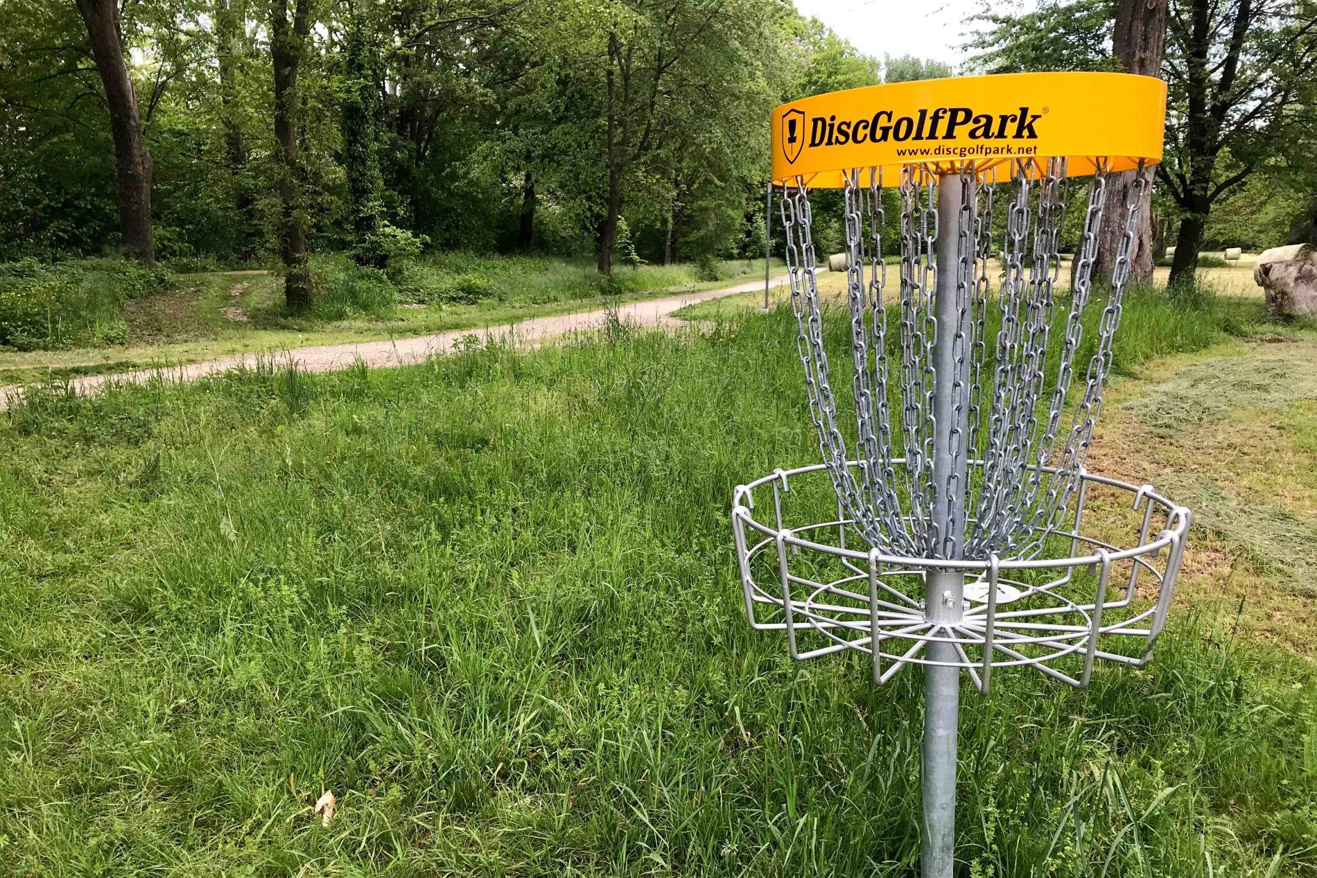Disc-Golf Metallkorb