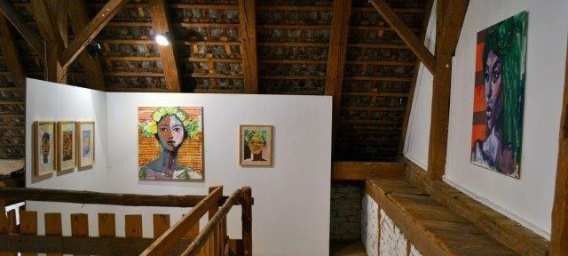 Kunstwerke in der Galerie Bagnato