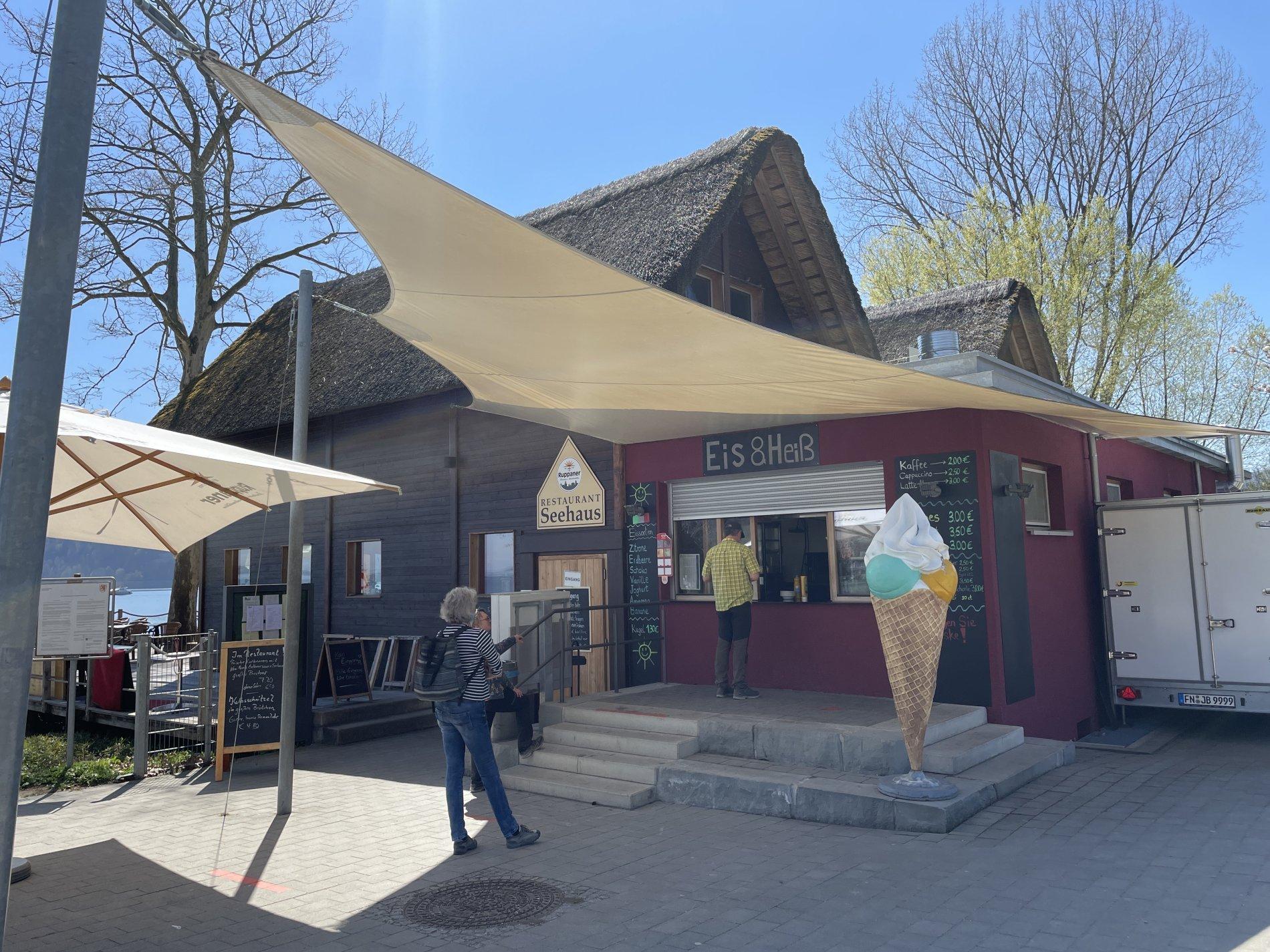 Kiosk am Restaurant Seehaus