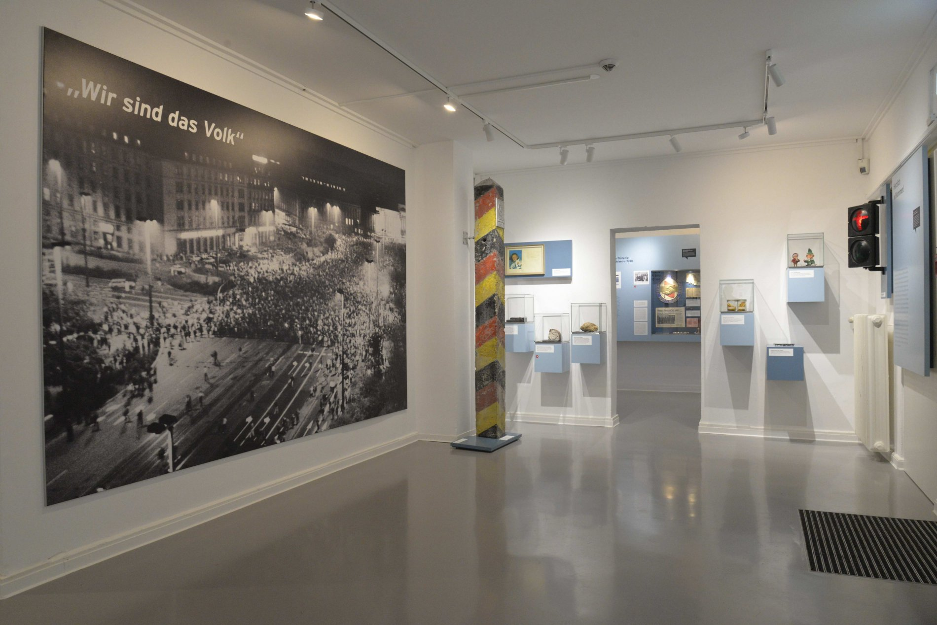"""""""We are the people"""" in the GDR Museum"""
