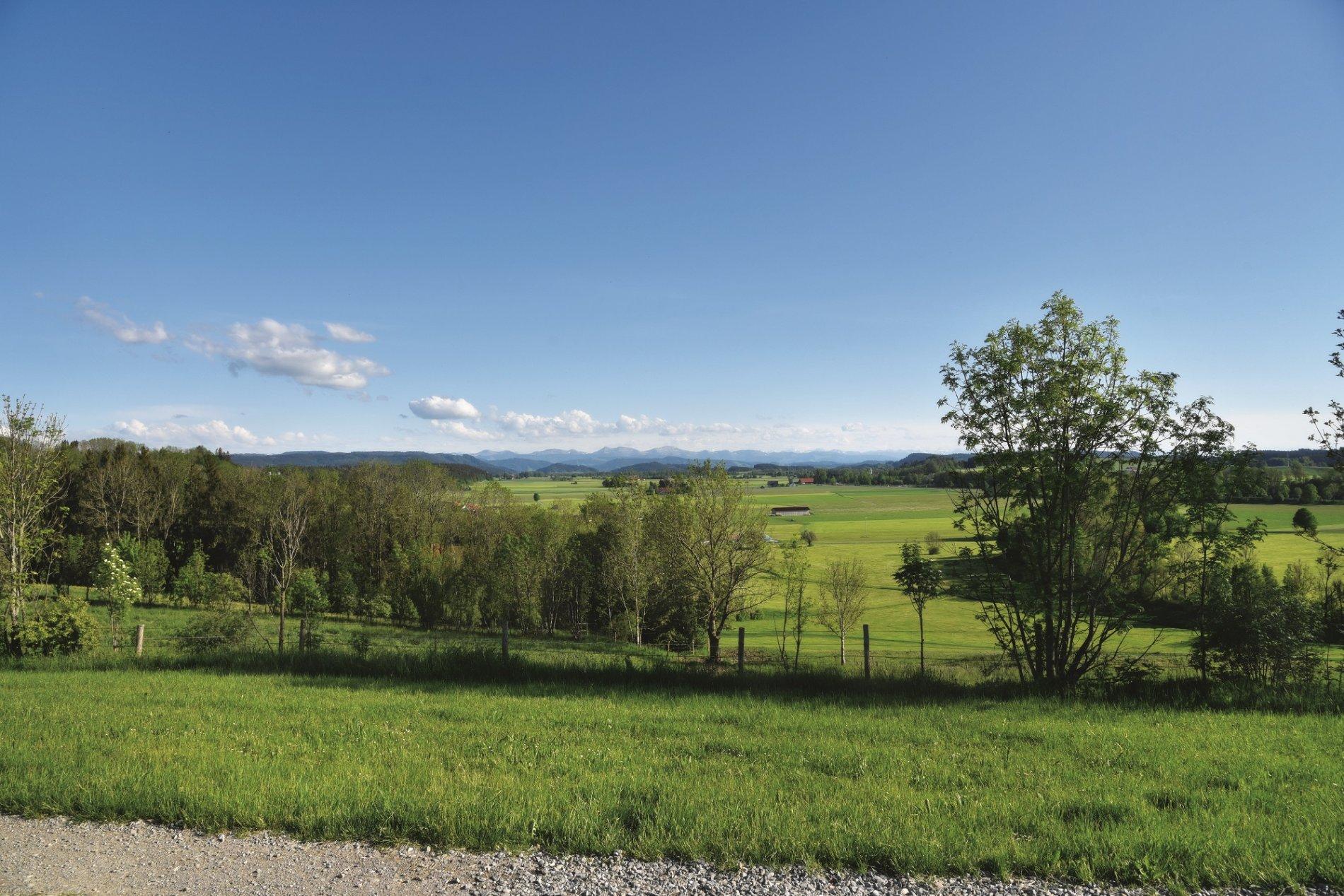 Panoramablick auf die Berge