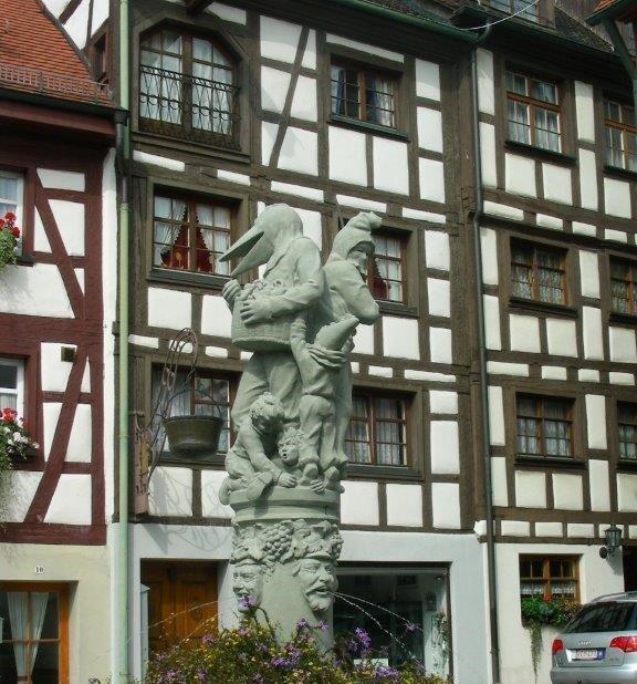 Schnabelgierebrunnen Meersburg