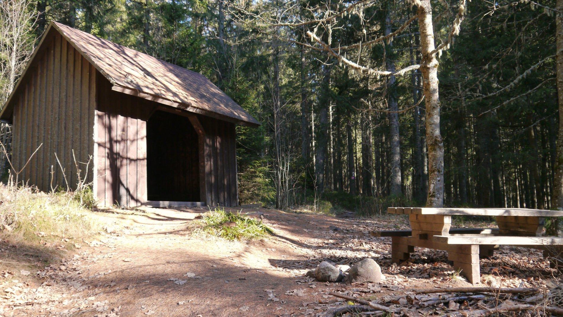 Stutzhütte am Jägersteig in Schluchsee