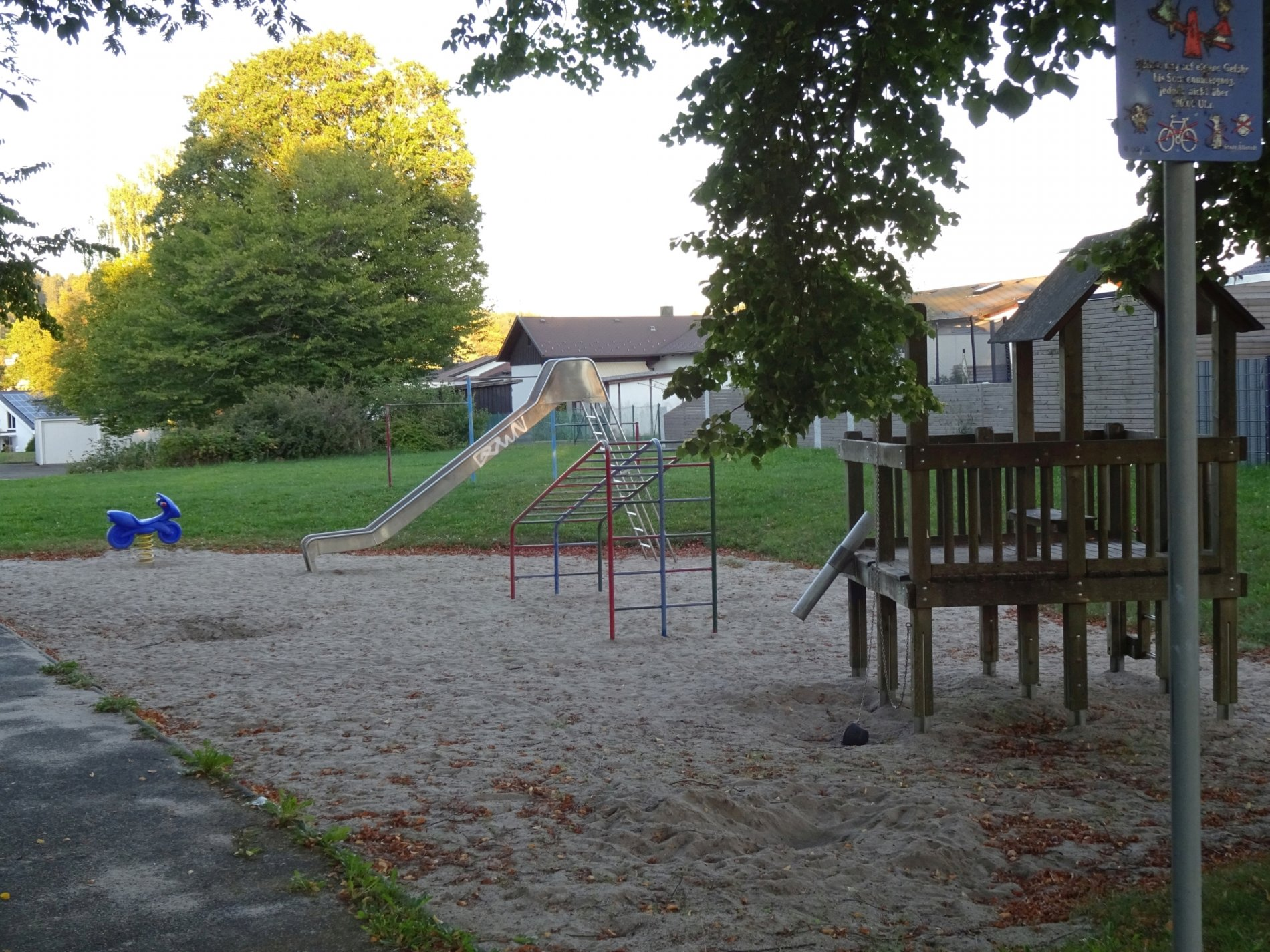 Spielplatz Bäckerstraße-Toller Platz zum spielen!