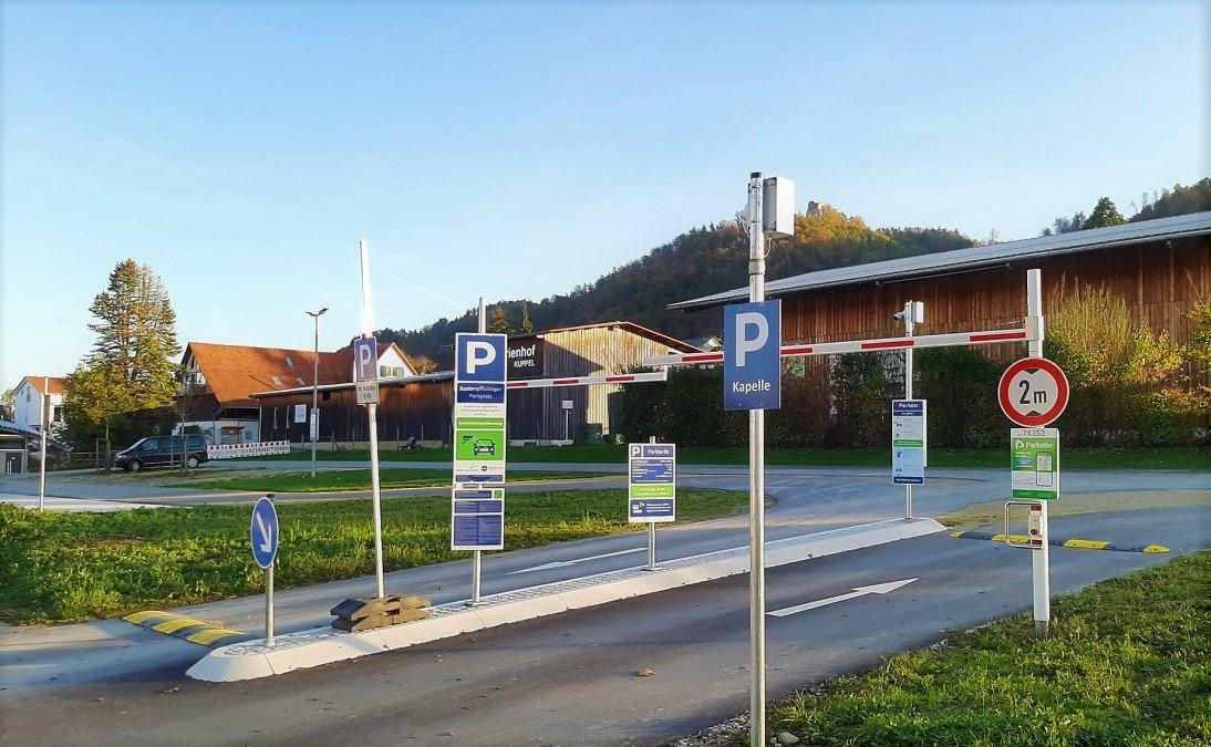 Symbolbild Parkplatz