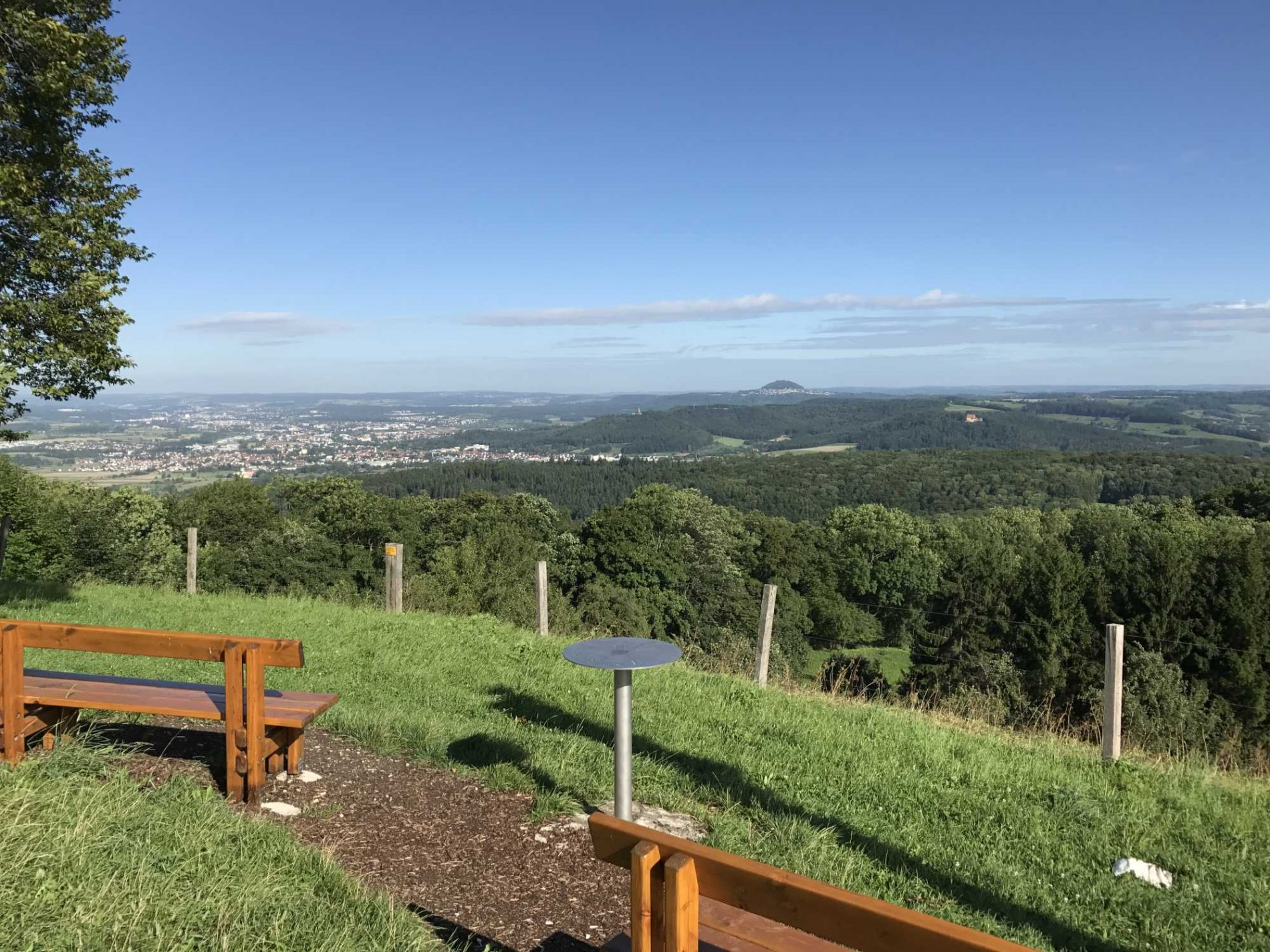 Aussicht Löwenpfad Weitblick-Tour