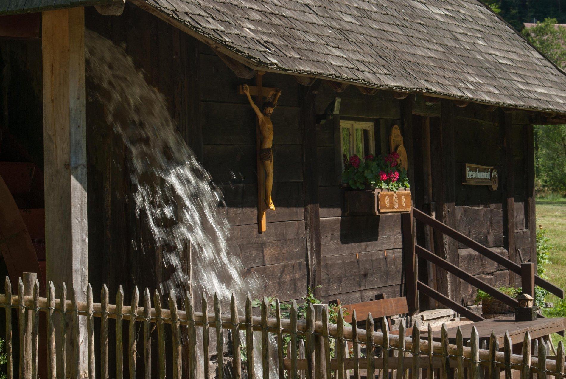 Mühle, Wasserrad