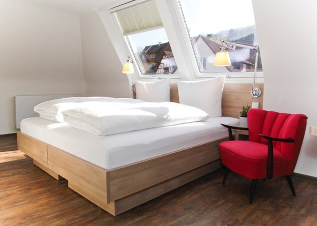 Gasthof zum Löwen Braunsbach Zimmer