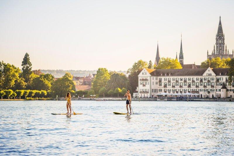 Stand-Up-Paddling in Konstanz