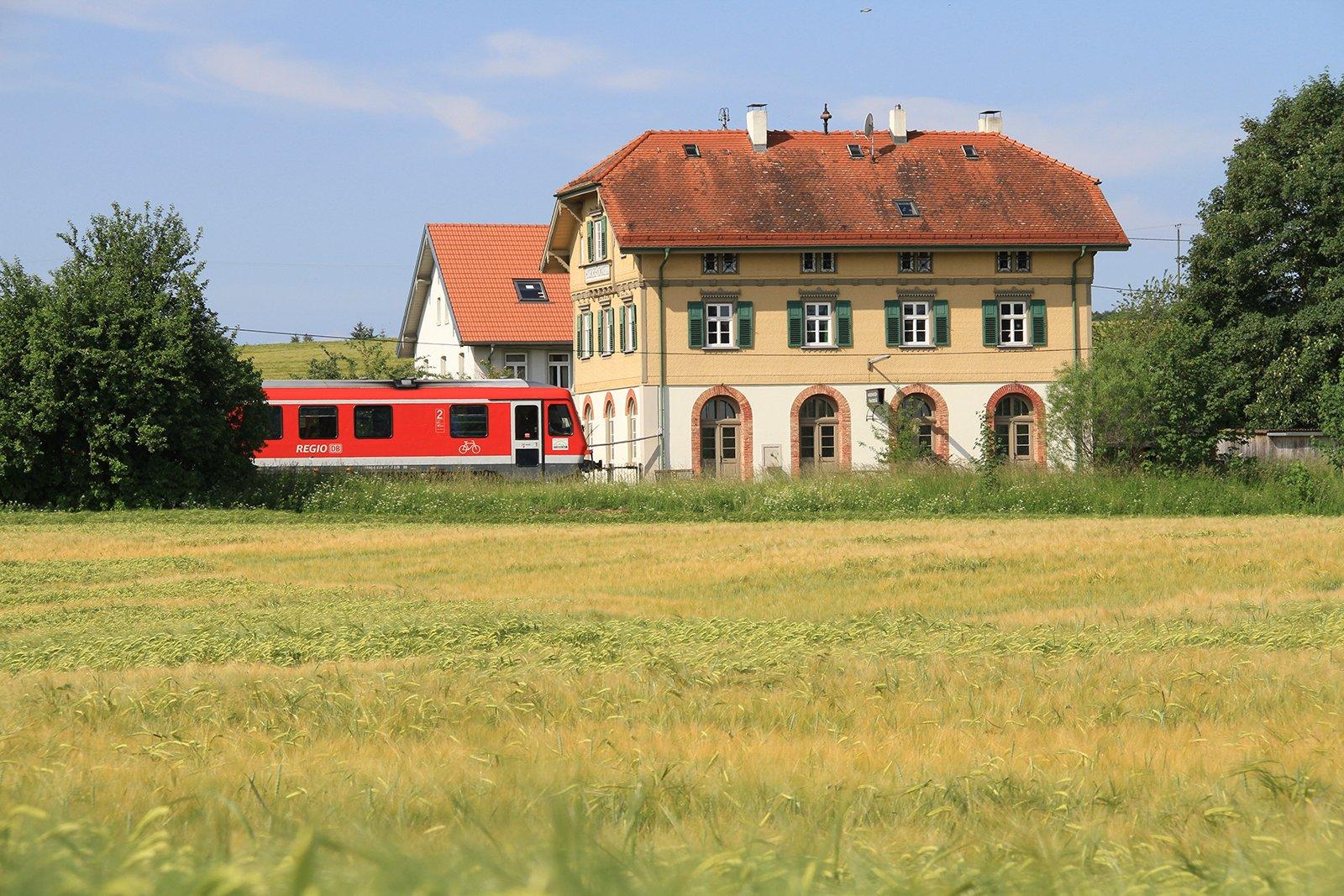 Eisenbahnromantik auf einst stillgelegten Nebenstrecken in Oberschwaben