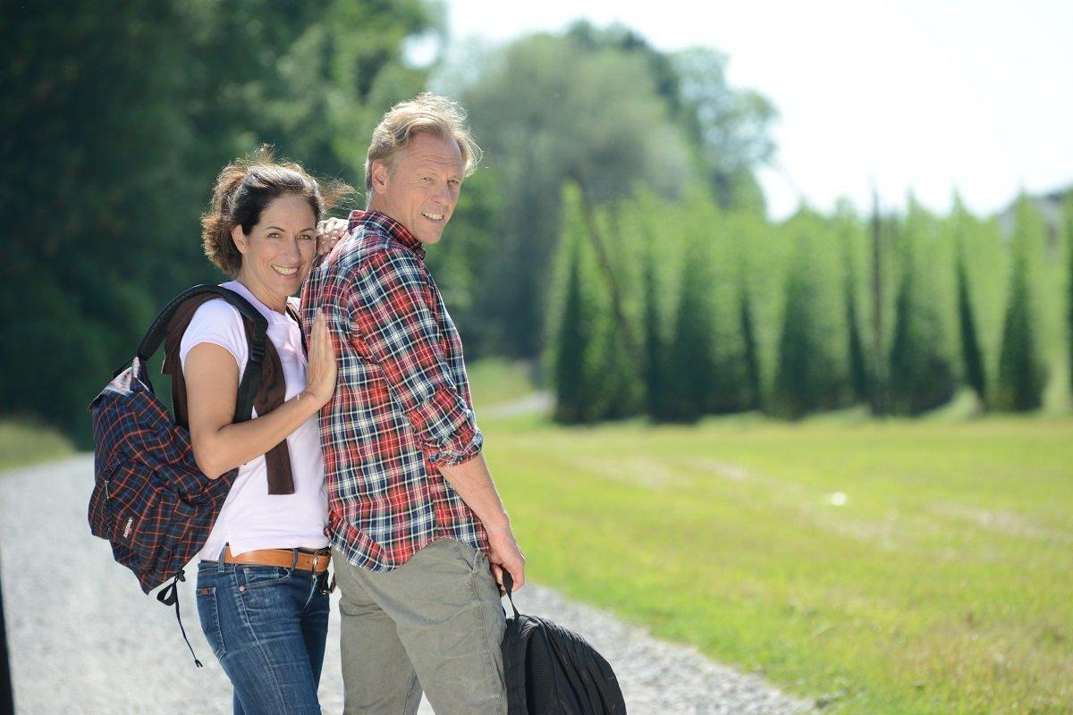 Wandern auf der Goldau-Runde in Bad Gögging