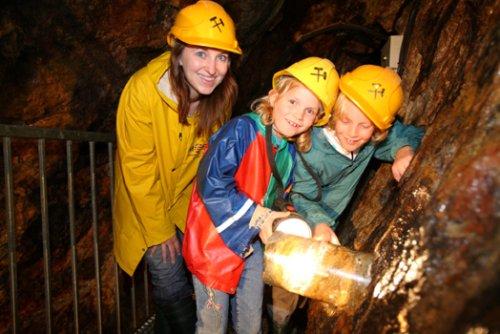 Kinderführung im Bergwerk