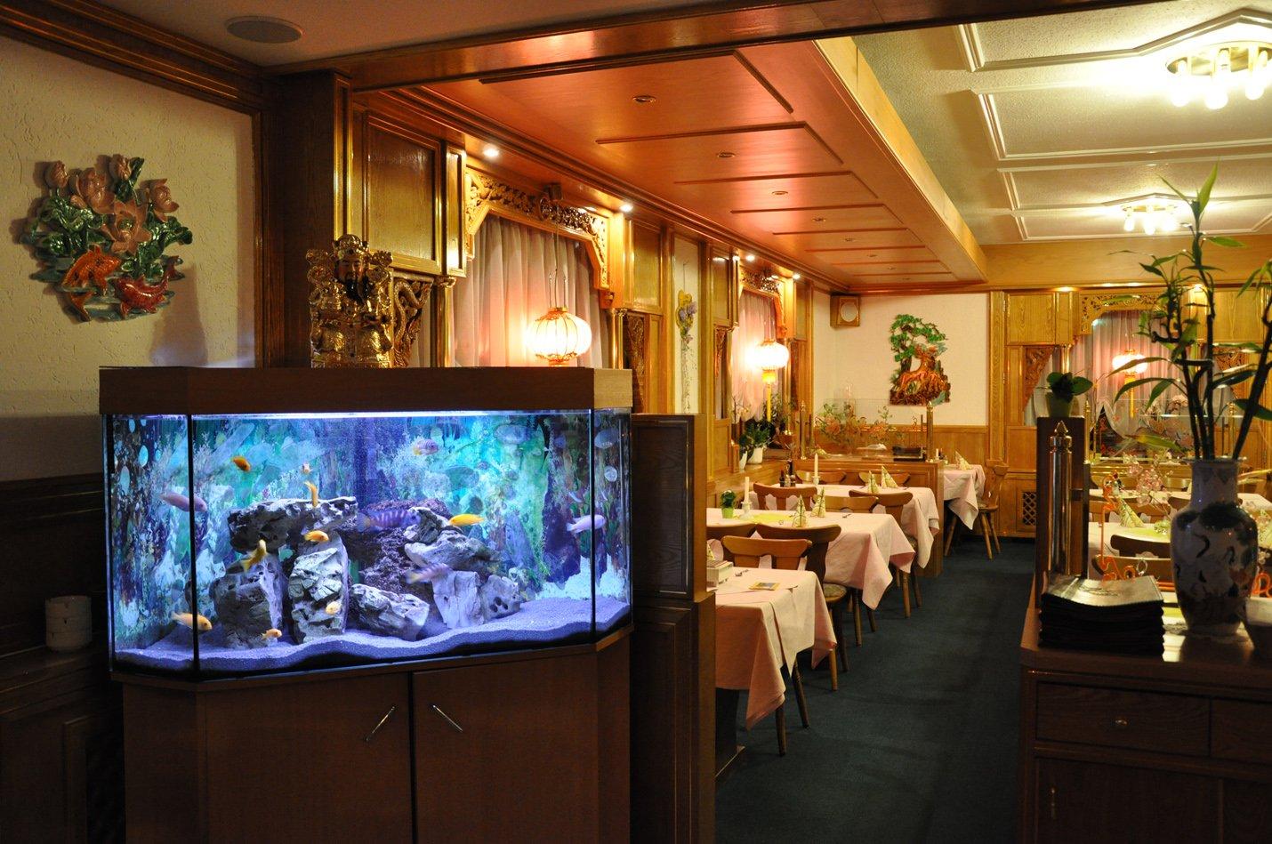 Innenraum China Restaurant