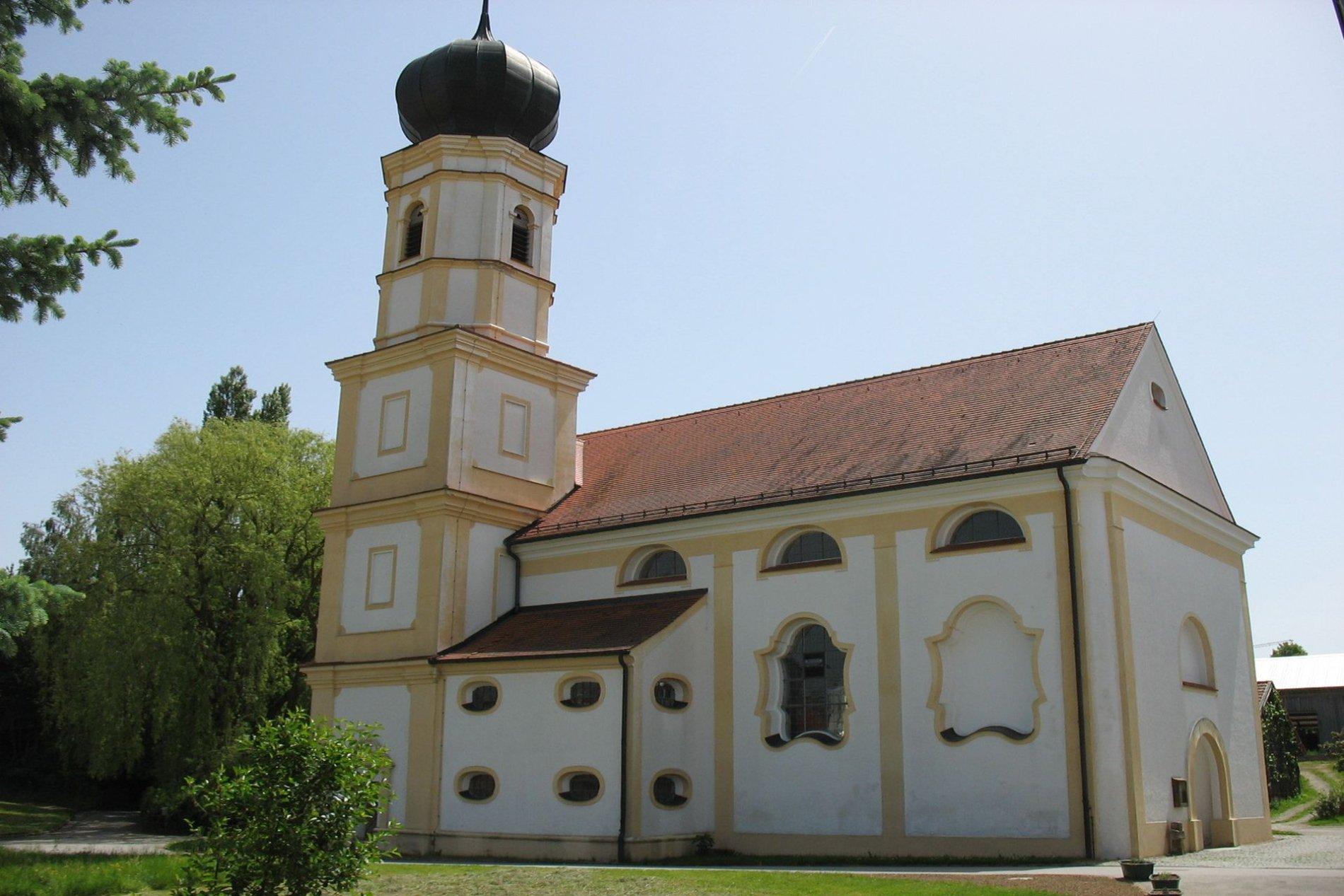 Wallfahrtskirche Hellring bei Langquaid