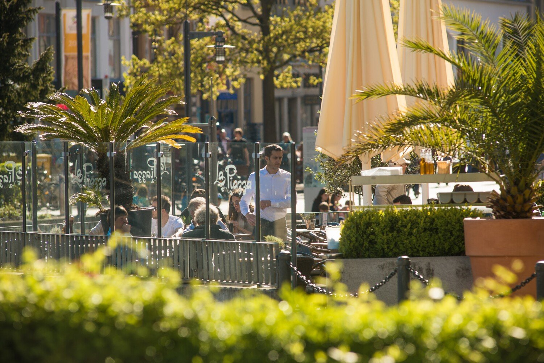 Terrasse des La Piazzas