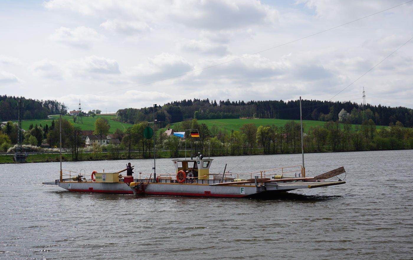 Donaufähre Sandbach