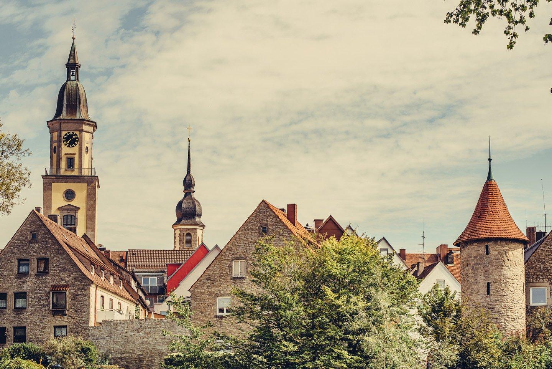 Etappe 5 3 Türme in Crailsheim