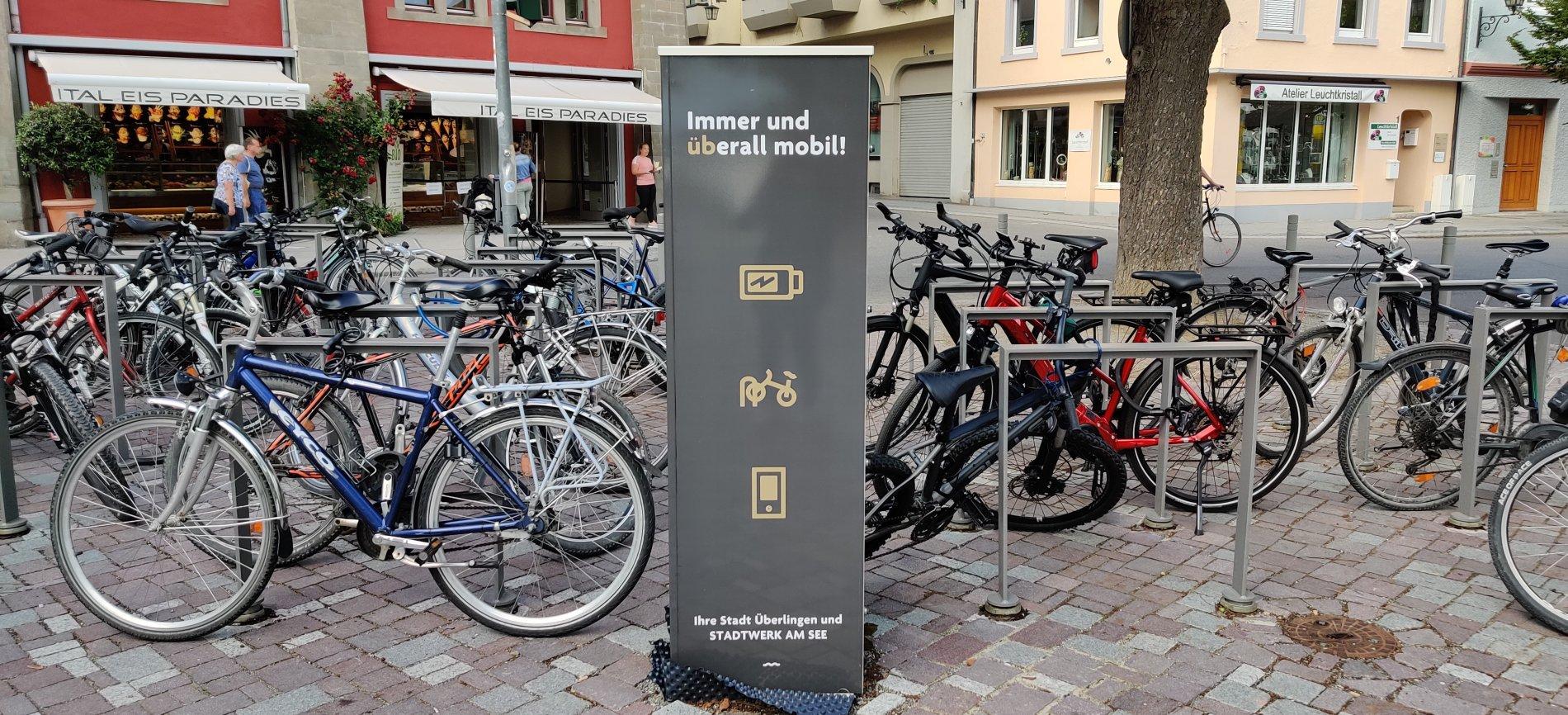 E-Bike Ladestadtion Landungsplatz
