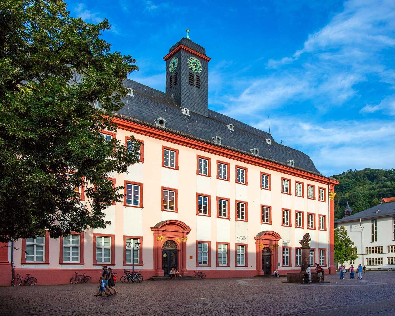 Außenansicht der Universität Heidelberg