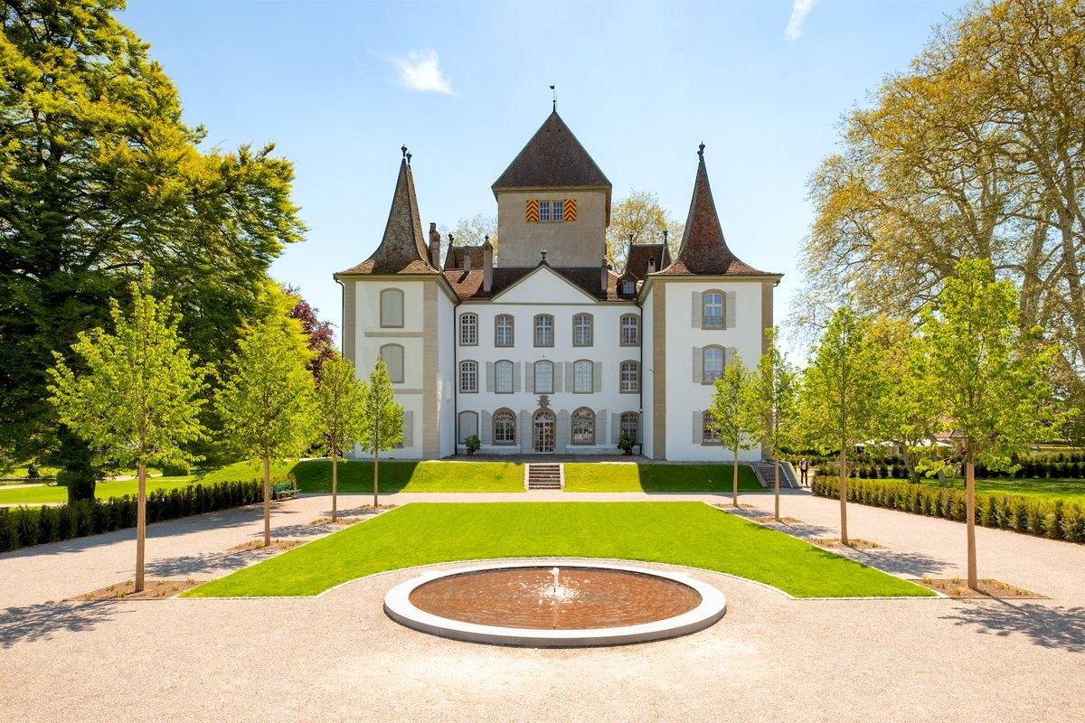 Schloss Jegenstorf Park