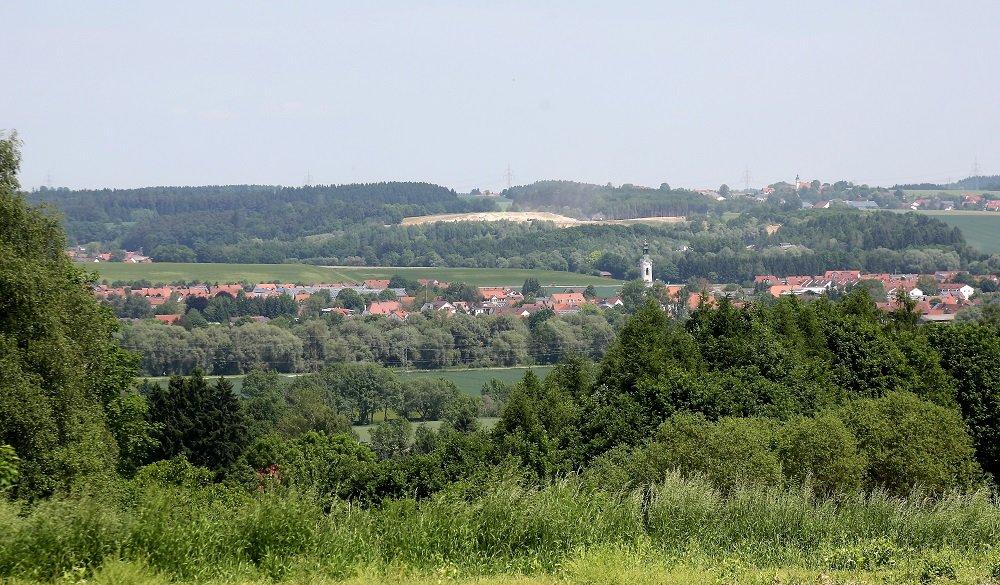 Panoramabild von Zolling