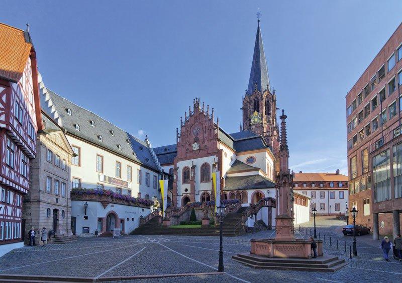 Aschaffenburg - Stiftsplatz