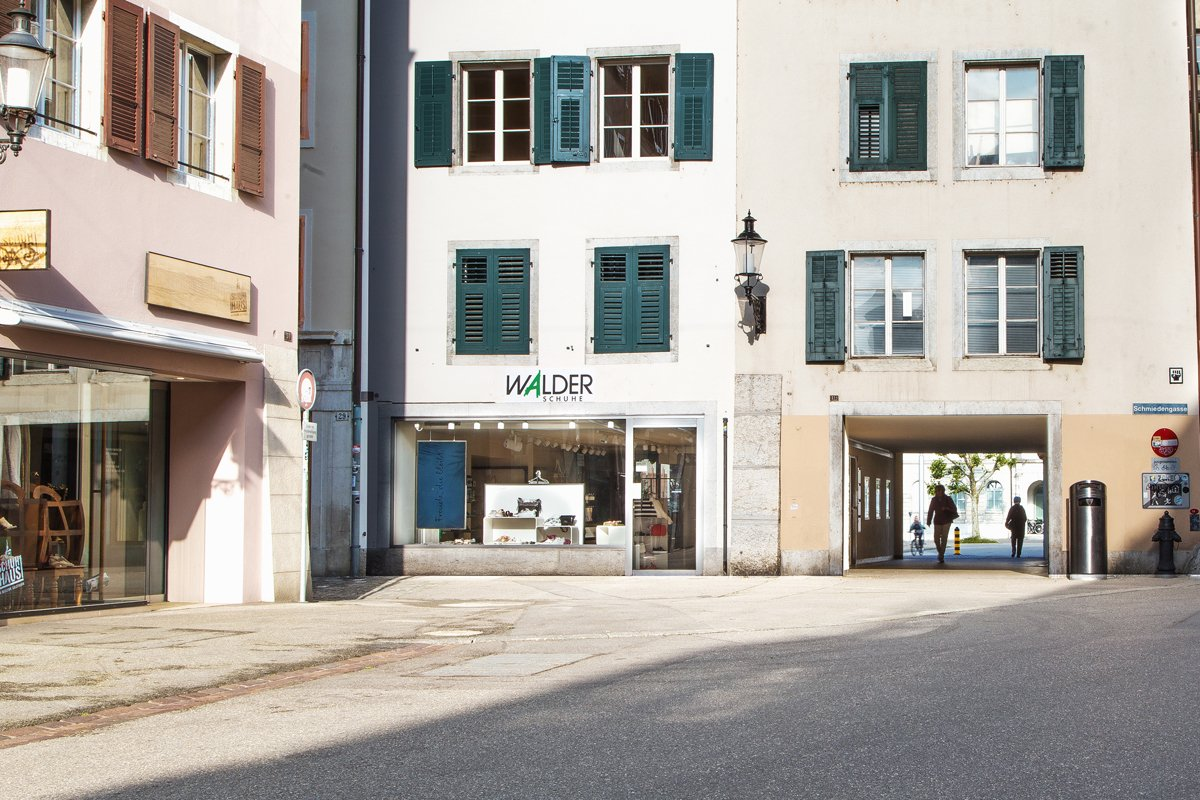 Walder Schuhe Solothurn aussen