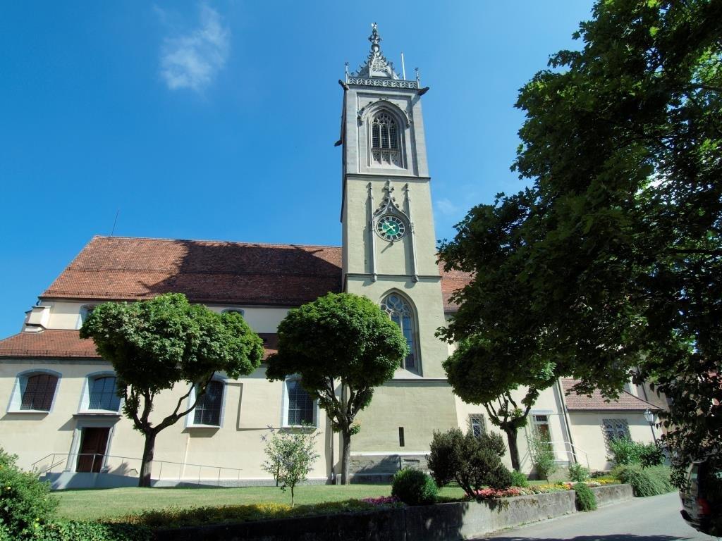 Stadtpfarrkirche St. Jakobus Pfullendorf von außen