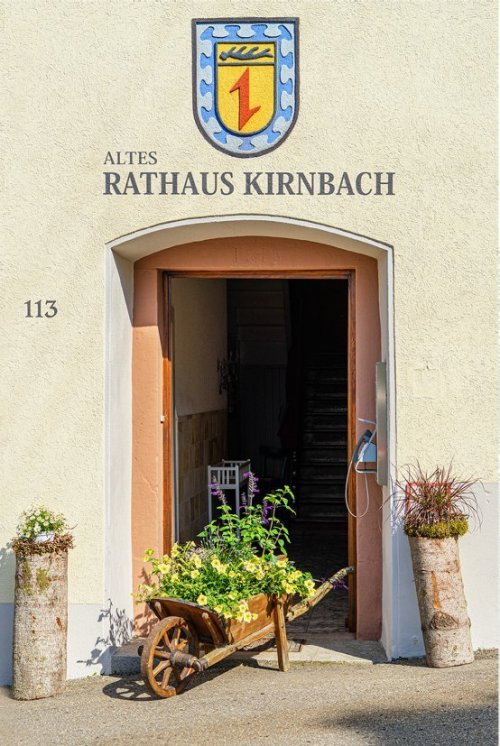 Altes Rathaus Kirnbach - Eingang