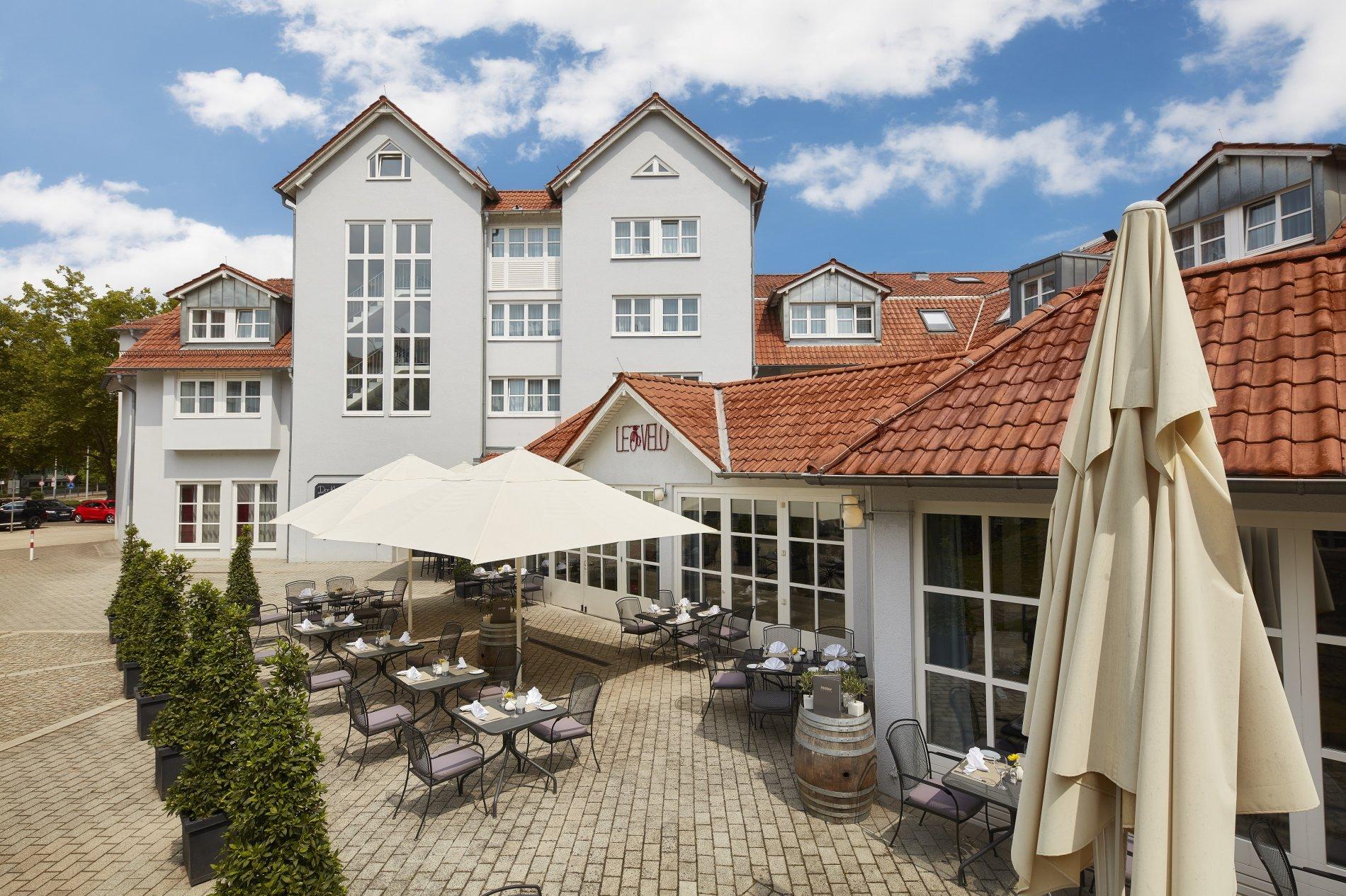 nestor Hotel Neckarsulm - Außenansicht| Bett+Bike Hotel HeilbronnerLand | RadServiceStation