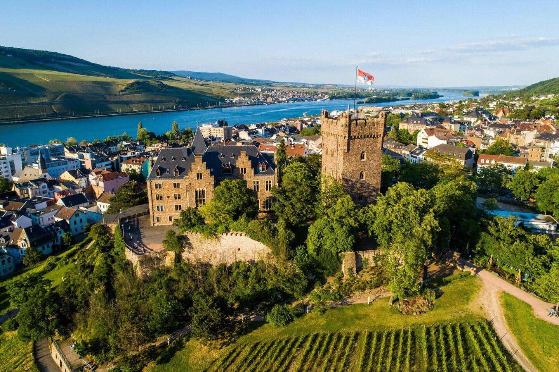 Bingen am Rhein - Burg Klopp