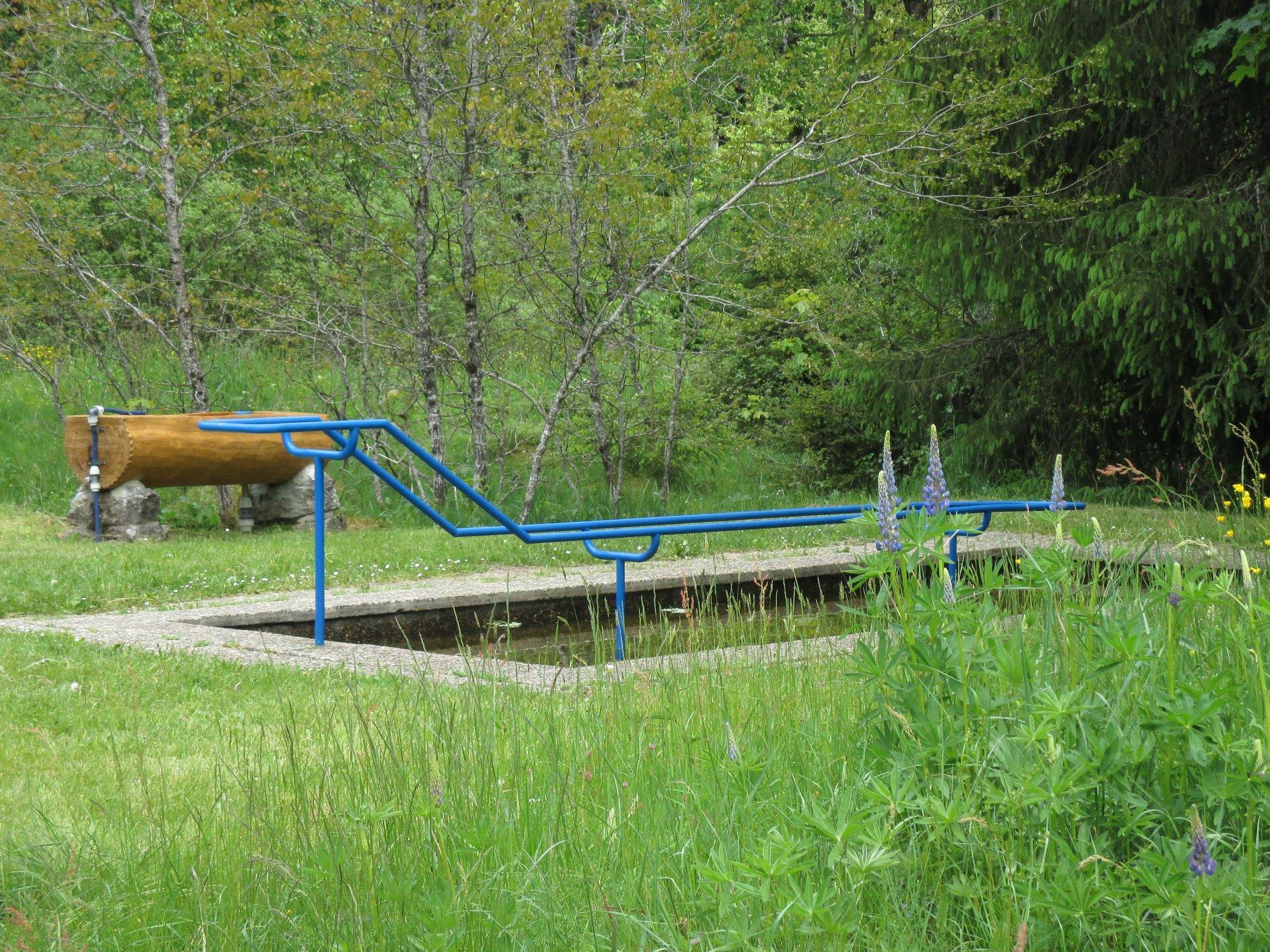 Wassertretstelle Blasiwald