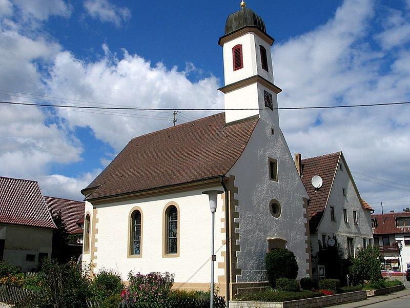 Kirche St. Wendelin in Hechingen-Bechtoldsweiler