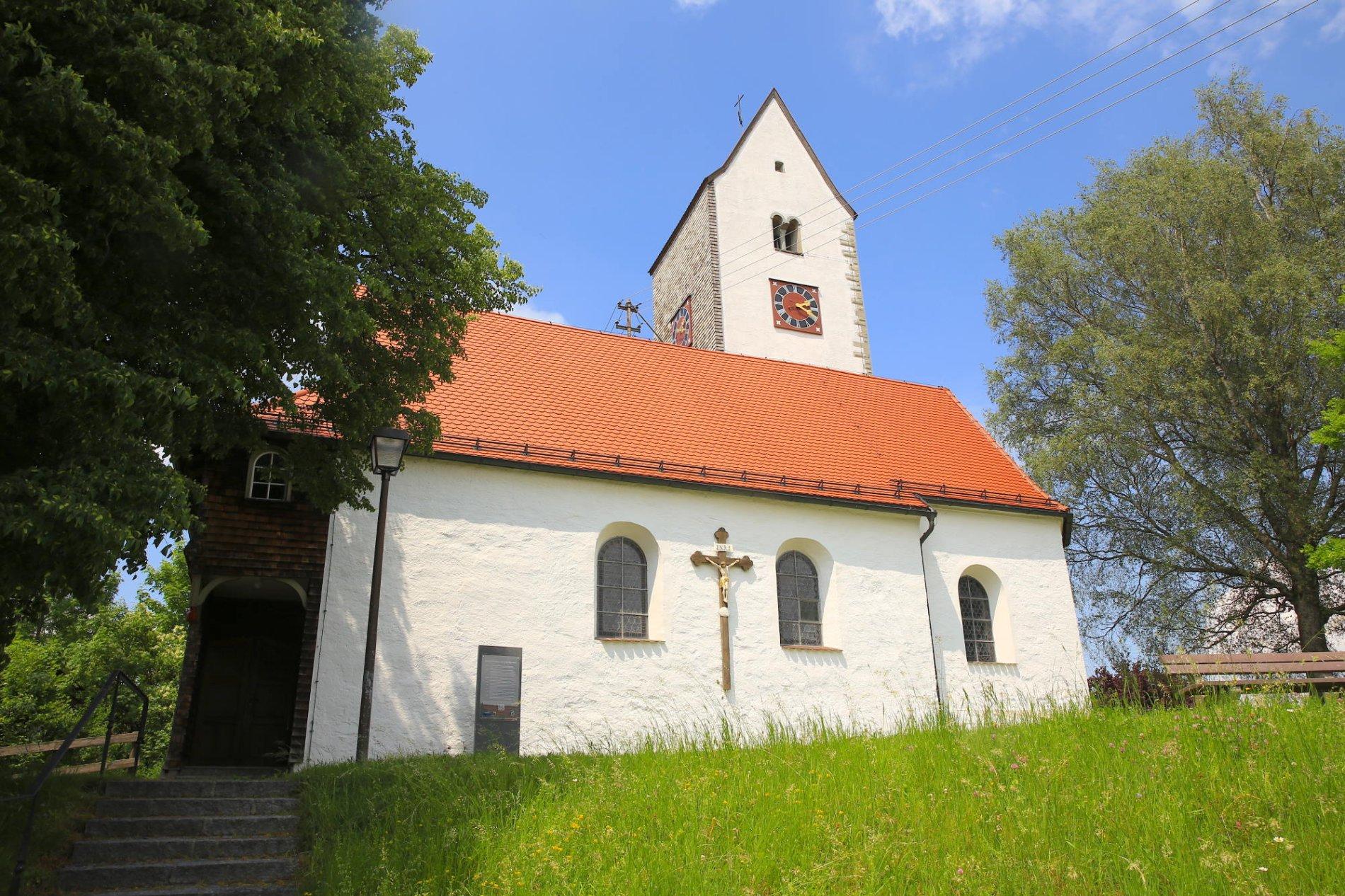 Kirche St. Johannes der Täufer, Ermengerst