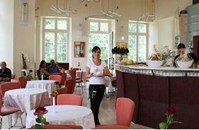 Schlosscafé im Badischen Landesmuseum Innenansicht