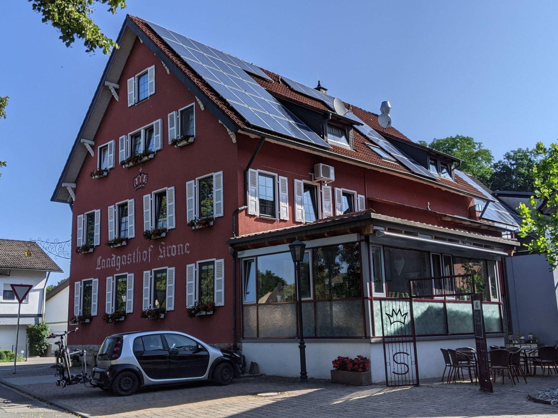 Landgasthof Krone   Bett+Bike   Möckmühl-Korb