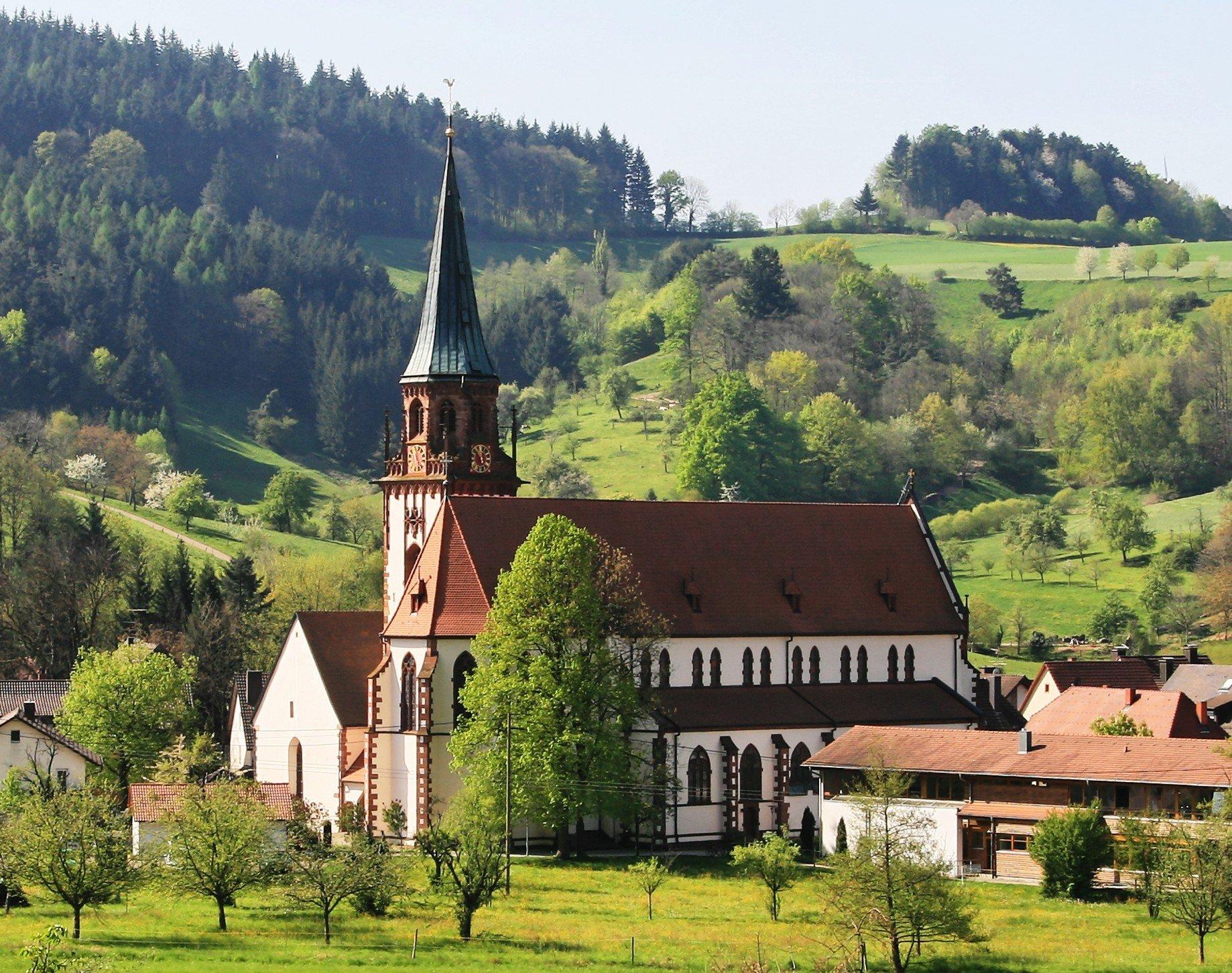 Die St. Blasiuskirche Glottertal