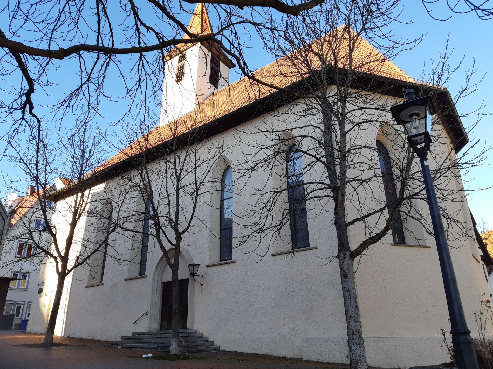 Evangelische Kapellkirche im Herzen von Albstadt-Ebingen