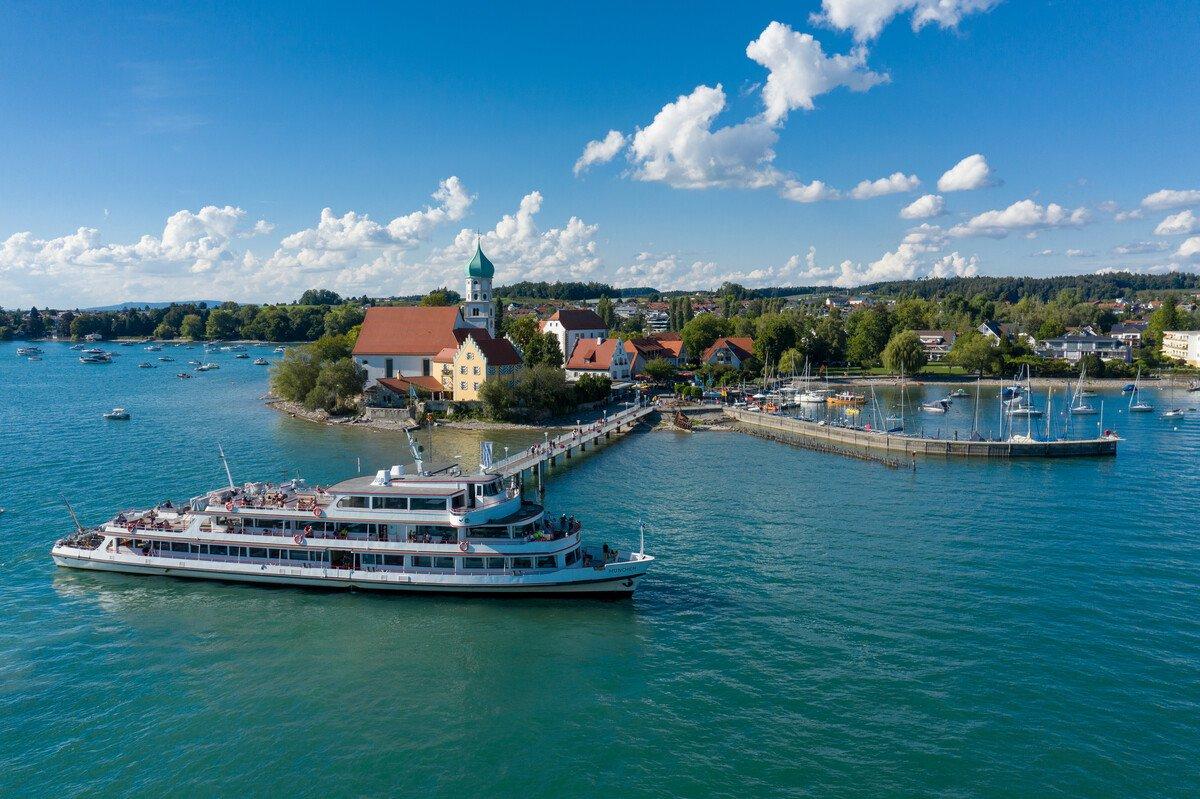Schiffsanlegestelle Wasserburg