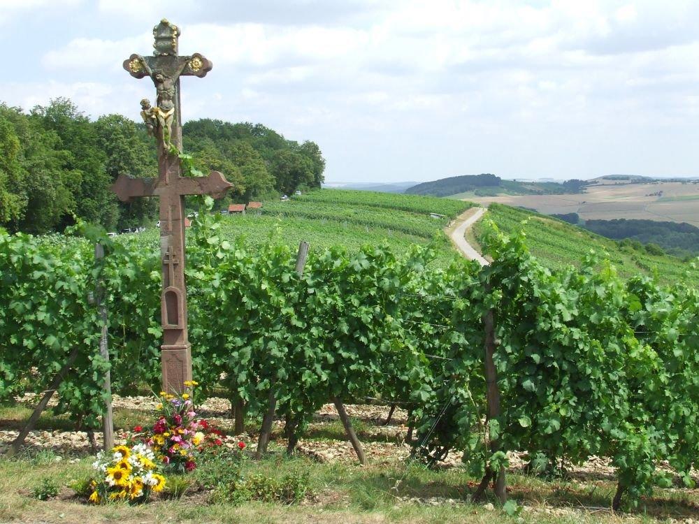 Caravacakreuz im Weinberg Hoher Herrgott